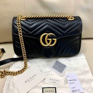 Small Gucci Marmont Maelasse Bag